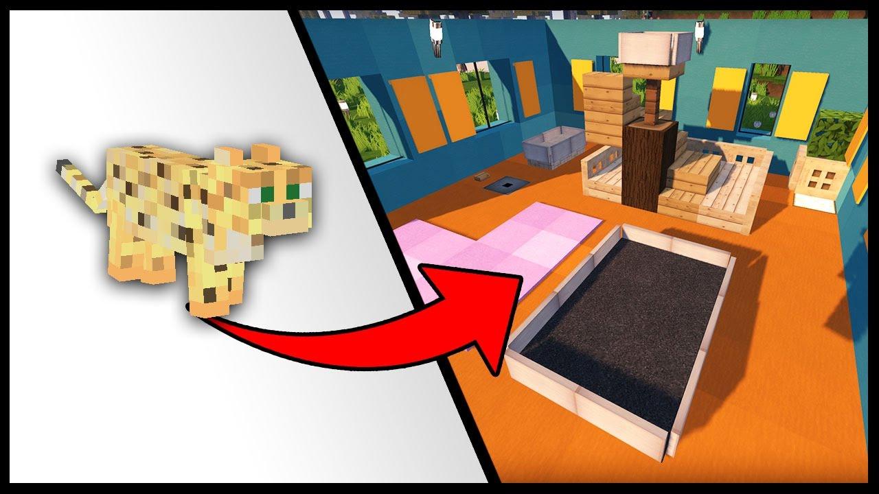 Costruire Cuccia Per Gatti come costruire una casa per i gatti - minecraft best build