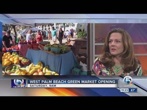 West Palm Beach Green Market returns Saturday