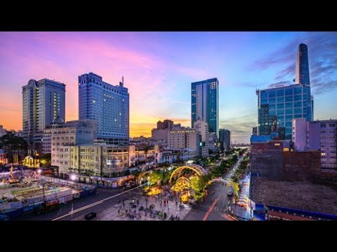 HG-Saigon-58sr (Sunrise Time-lapse of Saigon, Vietnam)