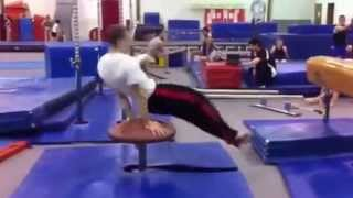 Gymnast sets world record