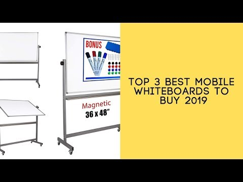 top-3-best-mobile-whiteboards-to-buy-2019---mobile-whiteboards-reviews