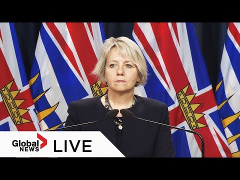 Coronavirus: BC health officials to provide live Wednesday COVID-19 update | LIVE