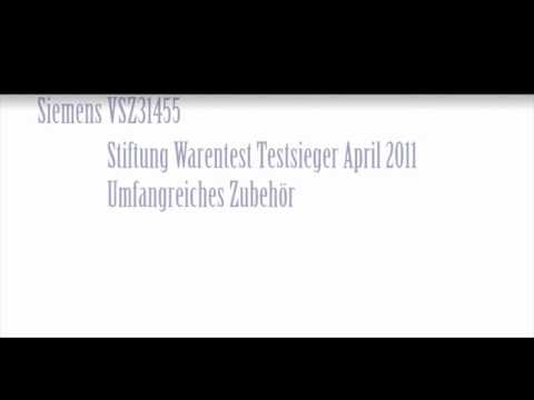 staubsauger test siemens vsz31455 testsieger youtube. Black Bedroom Furniture Sets. Home Design Ideas