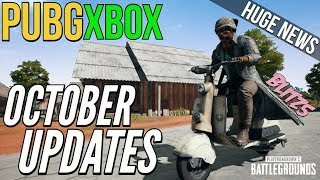 PUBG Xbox: October Updates Coming (New Weapons, Vehicles & Rewards)