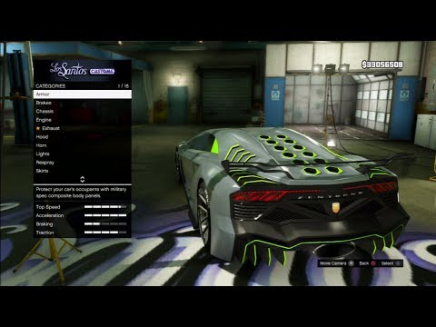 "GTA 5 DLC -""PEGASSI ZENTORNO"" Fully Customised !!! - High Life DLC On GTA 5 Online ""GTA 5 DLC"""