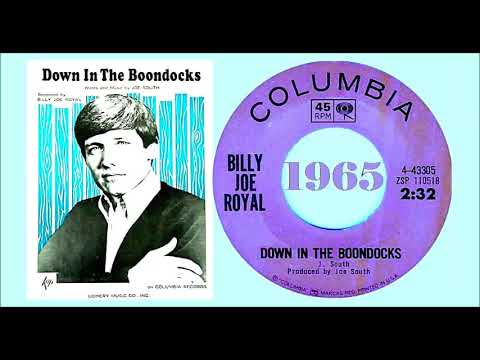 Billy Joe Royal - Down in the Boondocks 'Vinyl'