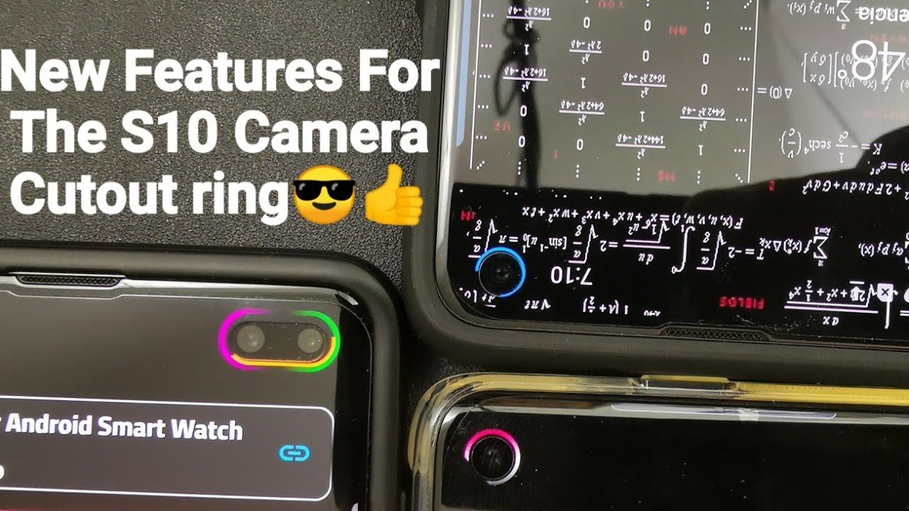 Customize Your Samsung Galaxy S10e / S10 / S10 Plus With These New Camera  Cutout Mod Features