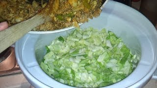 How To Make Lazy Cabbage Casserole (dr Poon / Paleo / Primal / Low Carb)