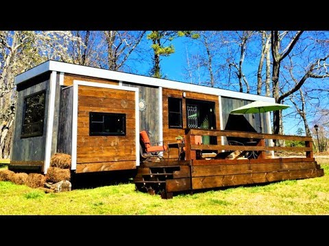 price-reduction-for-rustic-beautiful-modern-style-tiny-house-|-lovely-tiny-house