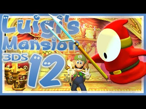 LUIGI'S MANSION 3DS # 12 👻 Reichtümer im versiegelten Raum! [HD60] Let's Play Luigi's Mansion