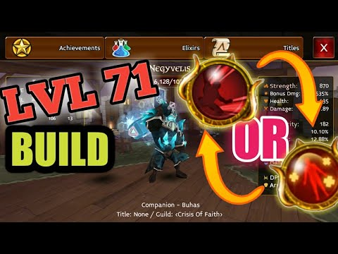 BEST Ultimate For Warrior!  LVL 71 BUILD - Arcane Legends!!