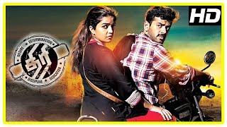 Thiri Movie Scenes | Ashwin and Swathi escape from the goons | Karunakaran | Daniel