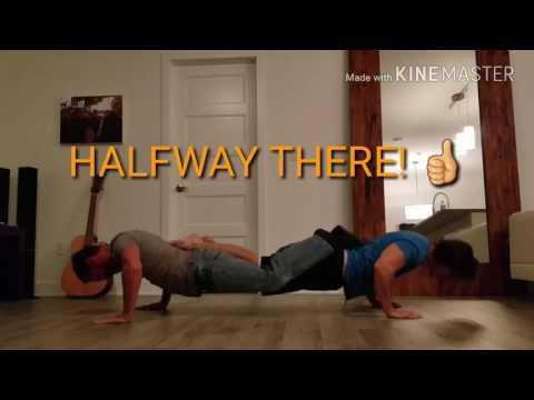 DAY 3 - No legs push ups ~ link pushups