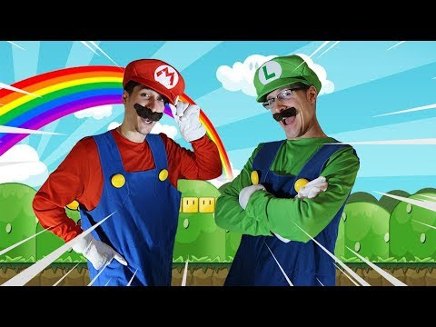 Super Mario Bros - Best Of Mario And Luigi IN REAL LIFE