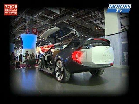 Concept Car Renault Ondelios Nouveaut Mondial Auto 2008 Youtube