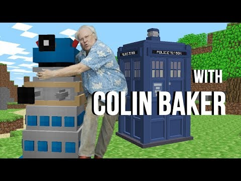 Doctor Who Plays Minecraft Dalek Mod (with Colin Baker)