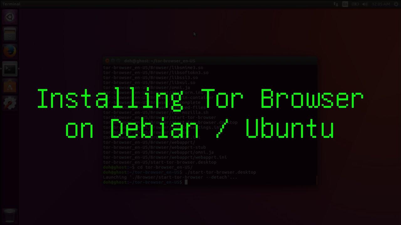 tor browser debian install