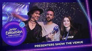 Roksana, Ida and Aleksander show you the Gliwice Arena!