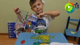 Электронный конструктор для детей Конструктор Знаток обзор