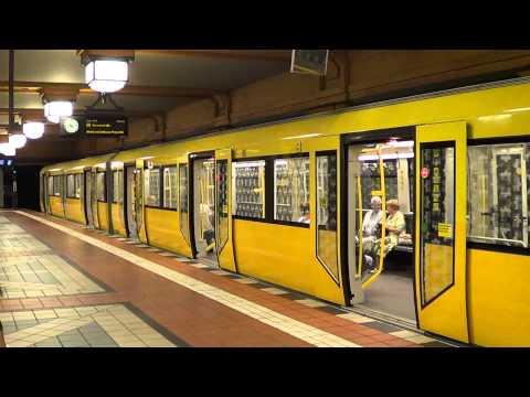U-Bahn Berlin - U-Bahnhof Wittenau U8 [HD 1080p]