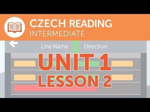 Intermediate Czech Reading - A Late Train in the Czech Republic