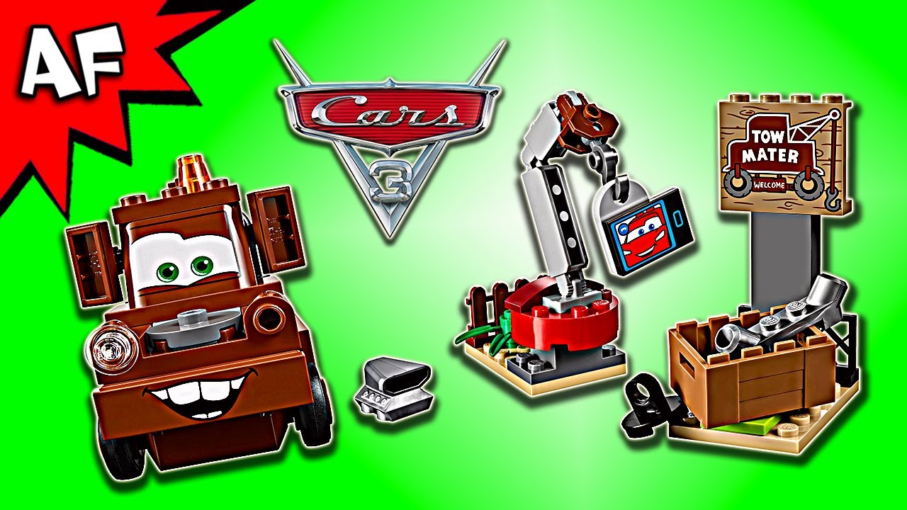 Lego Cars 3 Mater\'s Junkyard 10733 Speed Build - YouTube