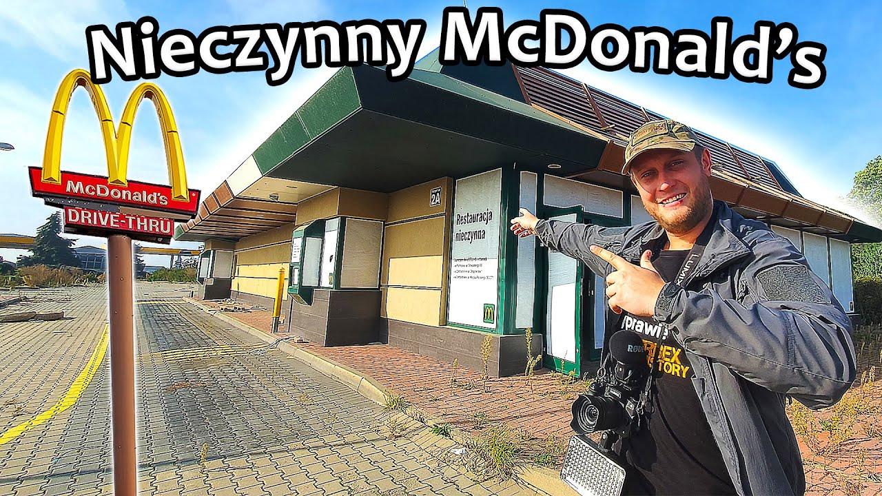 Opuszczony McDonald's - Urbex History