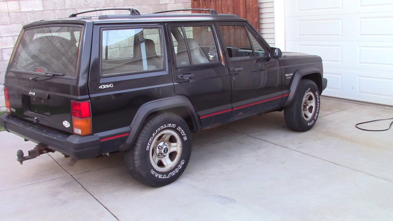 Jeep sport serpentine belt replace with ac ac 1996 youtube jeep sport serpentine belt replace with ac ac 1996 publicscrutiny Gallery