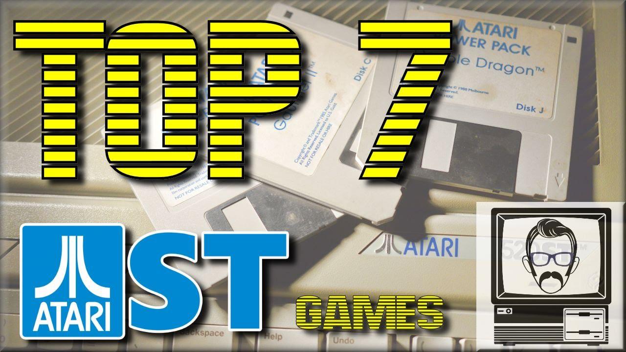 Atari ST Games Top 7 | Nostalgia Nerd