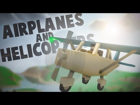 Unturned 3.14.1.0: HELICOPTERS AND PLANES!!! (PEI Arena Too)