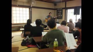 松代歌声会 堀六平さんを招いての会の様子です 歌で心が繋がるアットホ...