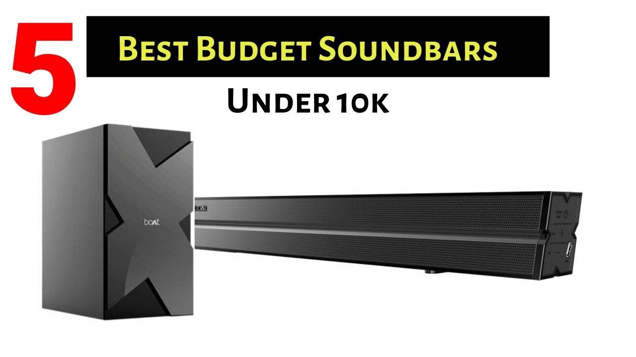 5 Best Budget Soundbars For TVs Under 10k | 2019 - YouTube