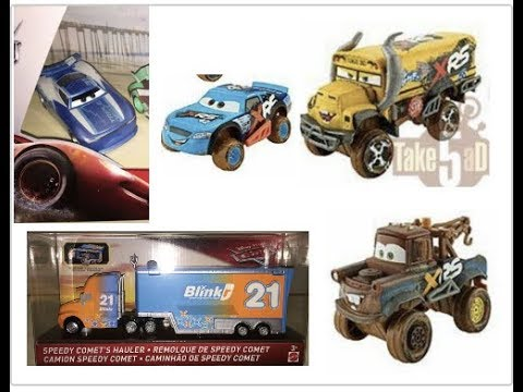 Xrs New Beach Racer And More New 2019 Disney Cars Diecasts Youtube