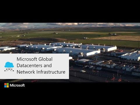 Microsoft Global Datacenters and Network Infrastructure