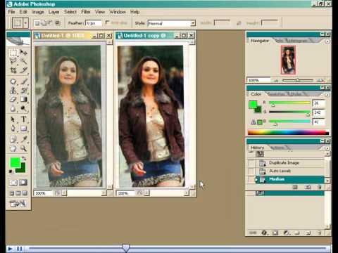 Cara cepat dan mudah memperhalus kulit wajah dengan photoshop