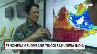 BMKG: Gelombang Tinggi Terjadi Hingga 7 Hari Mendatang