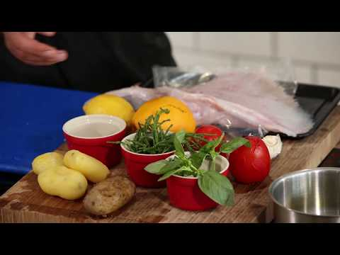 Summery Skate dish | Guest Chef | Jonny Dome