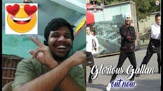 Glorious Gallan Song-SUPER SINGH Diljit Dosanjh,Sonam Bajwa Reaction(ADORABLE)
