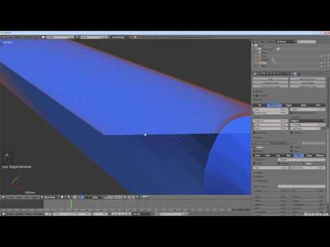 How to Create a Laser Beam in Blender with the Particle Syst