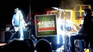 """ROUGE POMPIER : """"Il est né le chèque de la divine $ocan"""" (chanson,clip et paroles)"""