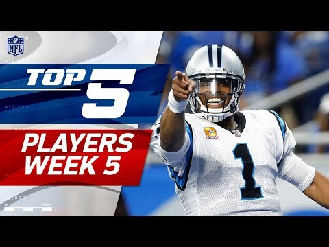 Top 5 Player Performances Week 5 | NFL Highlights