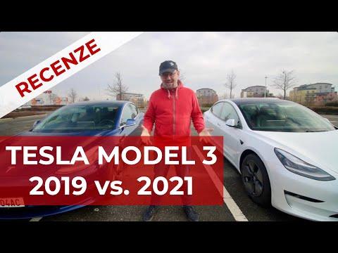 Tesla Model 3 2019 vs. 2021 co je nového?