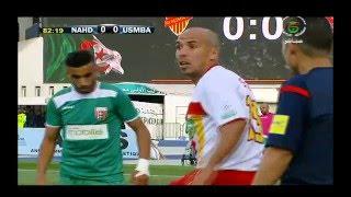 ملخص مباراة نصر حسين داي 1 NAHD اتحاد بلعباس USMBA 0