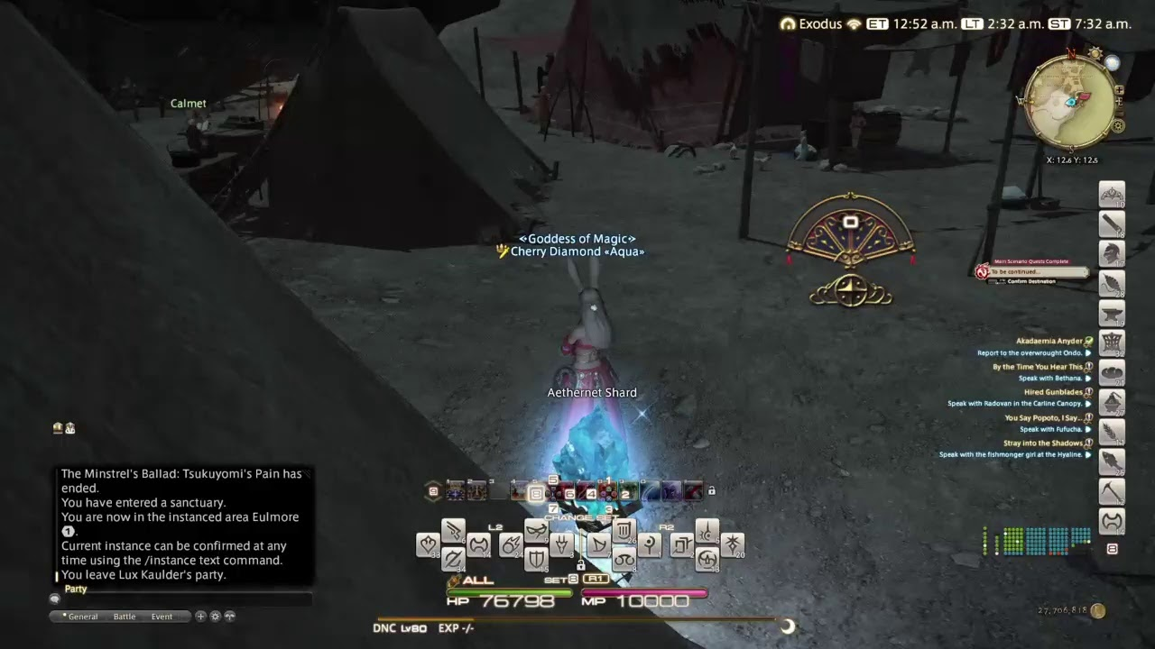 PS4 en vivo: Final Fantasy XIV Shadowbringers - Dancer