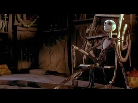 The Nightmare Before Christmas - Jack's Onsession (Lyrics)