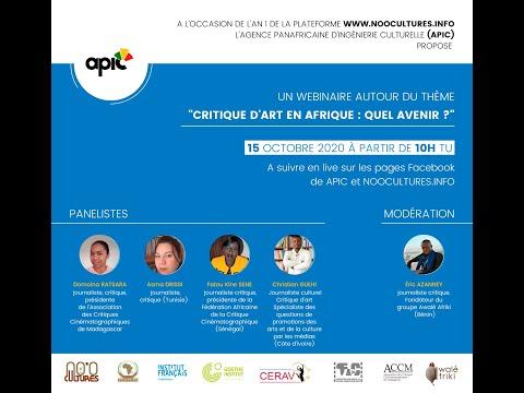 Webinaire sur la critique d'art en Afrique