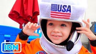 Vlad dan Nikita ingin menjadi astronot