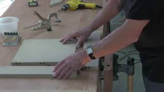 Miter Joint with Dowels for Solid Wood Top - Incredible Woodworking Joints by Dowelmax Pt. 4