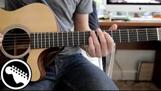 How To Play Otherside By The Red Hot Chili Peppers On Guitar