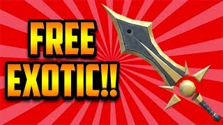 YOU CAN GET A FREE SUNBRINGER EXOTIC!! (ROBLOX ASSASSIN)